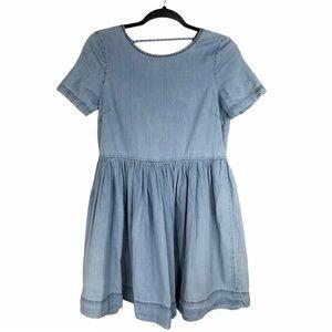 Vero Moda Fit and Flare Tencel Mini Dress